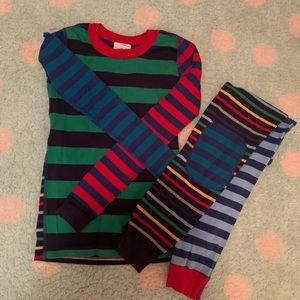 Hanna Andersson Boys stripe pajamas